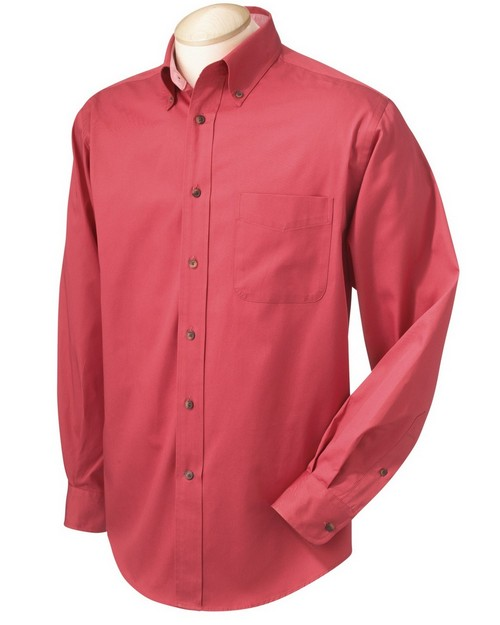 Chestnut Hill CH605 Men's Performance Plus Twill Shirt