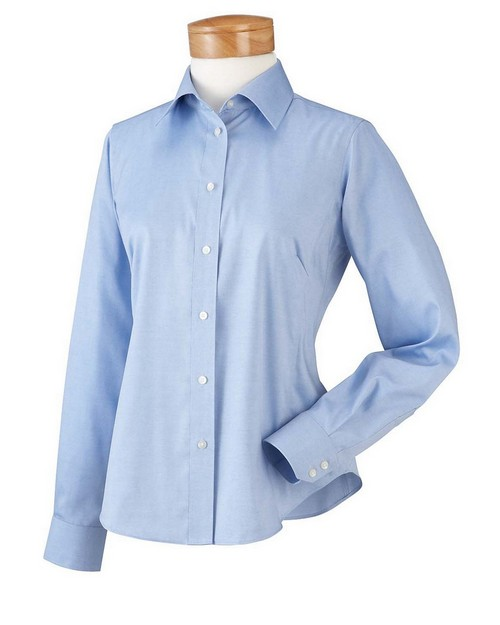 Chestnut Hill CH620W Ladies' Executive Performance Pinpoint Oxford