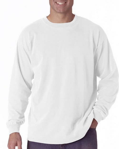 Chouinard 6014 Adult Garment-Dyed Heavyweight Long Sleeve Tee