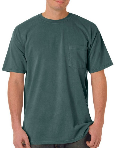 Chouinard 6030 Adult Garment-Dyed Heavyweight Short-Sleeve Pocket Tee