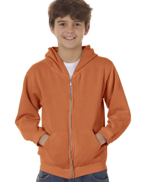 Chouinard 7755 Youth Full-Zip Hooded Sweatshirt