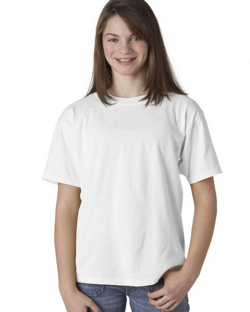 Chouinard 9018 Youth Garment-Dyed Ring-Spun Cotton Tee