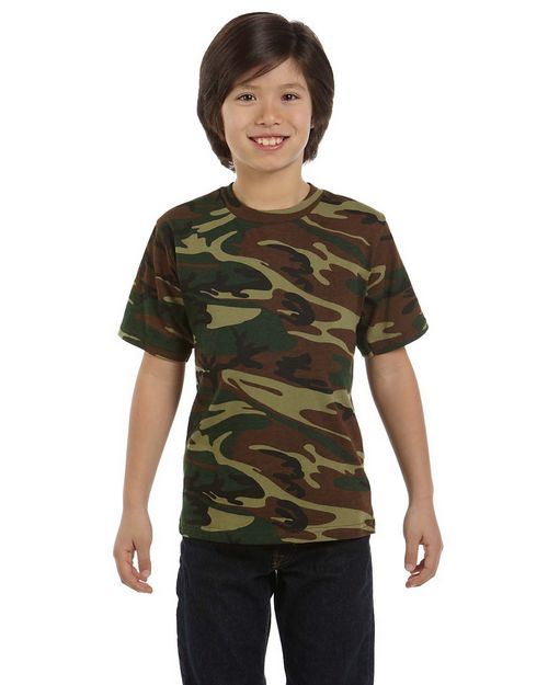 Code Five 2206 Youth 5.5 oz. Camouflage T-Shirt