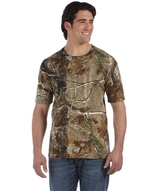 Code Five 3980 Officially Licensed Realtree Camouflage Short-Sleeve T-Shirt