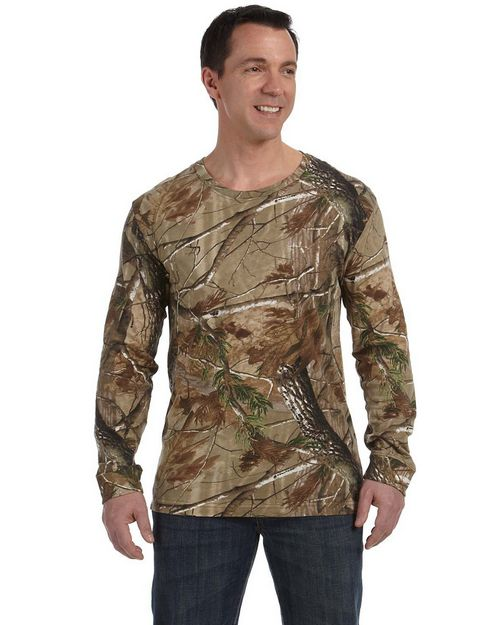 Code Five 3981 Officially Licensed Realtree Camouflage Long-Sleeve T-Shirt