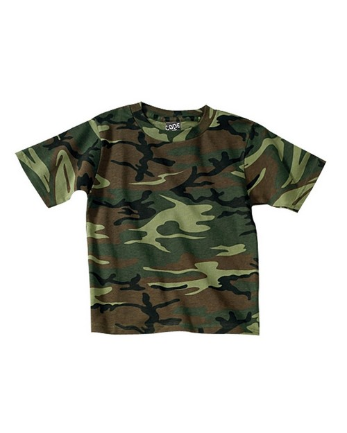 Code V 2206 Youth 5.5 oz. Camouflage T-Shirt