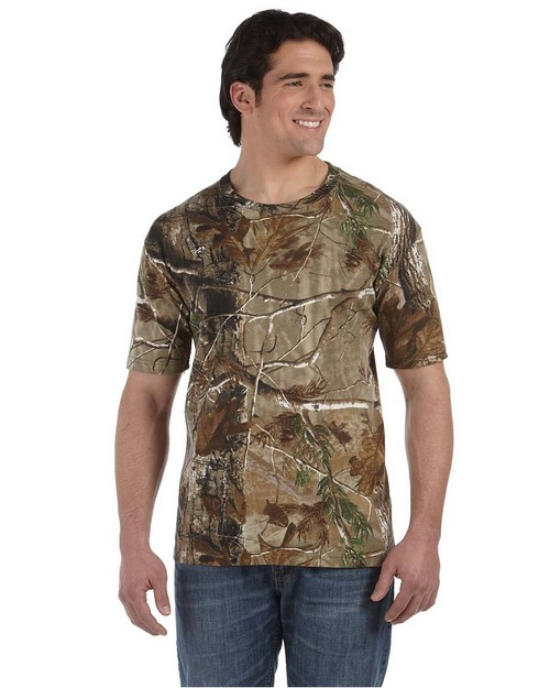 Code V 3980 Officially Licensed Realtree Camouflage Short-Sleeve T-Shirt
