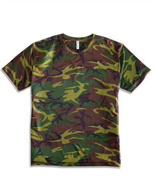Code Five 3983 Code Five Adult Performance Camouflage T-Shirt