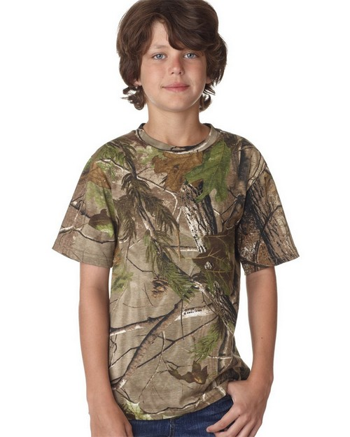 Code V L2280 Youth Realtree Camouflage Tee