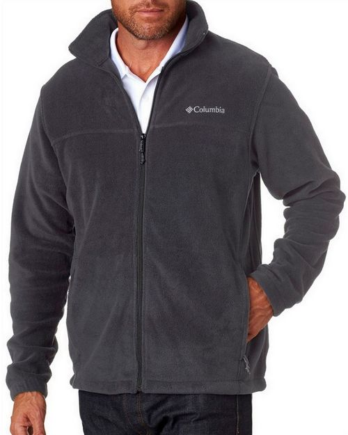 Logo Embroidered Columbia 3220 Mens Steens Mountain™ Full-Zip Fleece