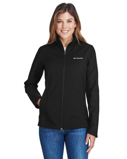 Logo Embroidered Columbia 5343 Ladies Kruser Ridge Soft Shell