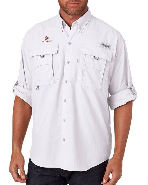 Columbia 7048 Mens Bahama II Long-Sleeve Shirt