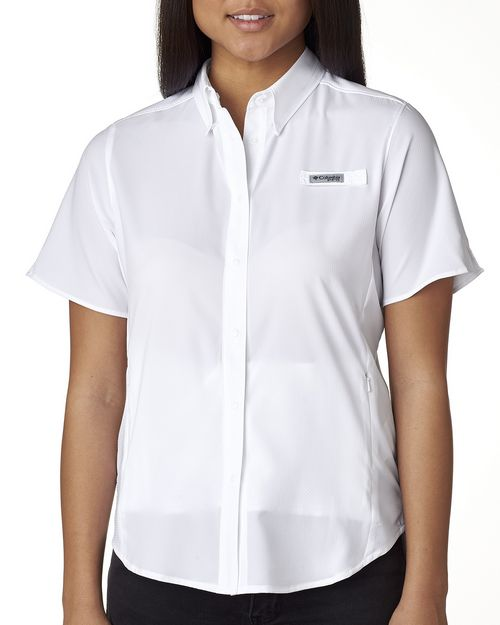 Columbia Sportswear 7277 Columbia Ladies' Tamiami™ II Short-Sleeve Shirt
