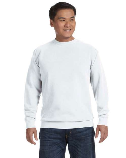 Comfort Colors 1566 Garment Dyed Fleece Crew