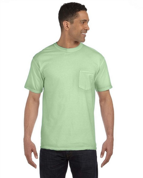 Comfort Colors 6030CC Garment Dyed Pocket T-Shirt