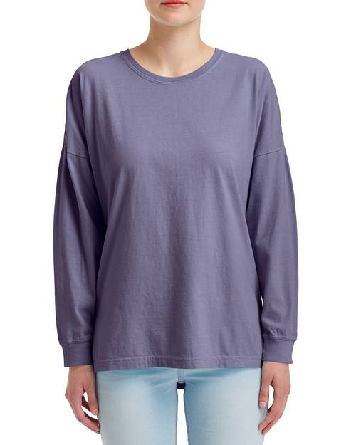 Comfort Colors 6054 Womens Heavyweight RS Oversized Long-Sleeve T-Shirt