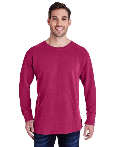 Comfort Colors C1536 Adult French Terry Crew Neck Pocket T-Shirt