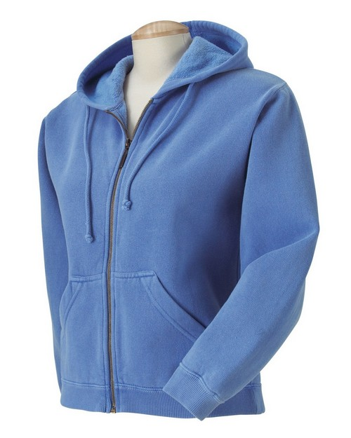 Comfort Colors C1598 Womens Full Zip Hooded Fleece