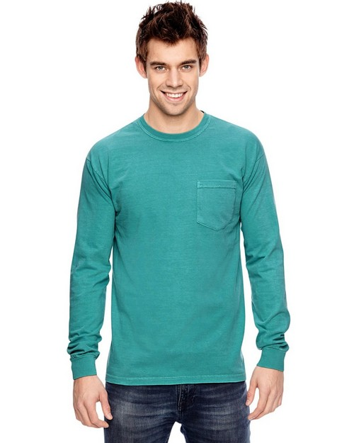 Comfort Colors C4410 Long Sleeve Pocket T-Shirt