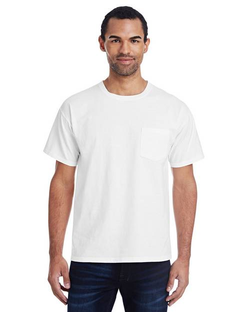 Comfort Wash By Hanes GDH150 Unisex Garment-Dyed Pocket T-Shirt