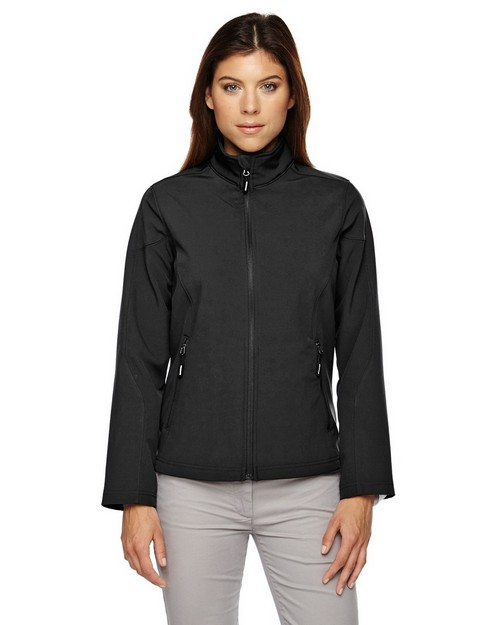 Core365 78184 Cruise Ladies 2 Layer Fleece Bonded Soft Shell Jacket