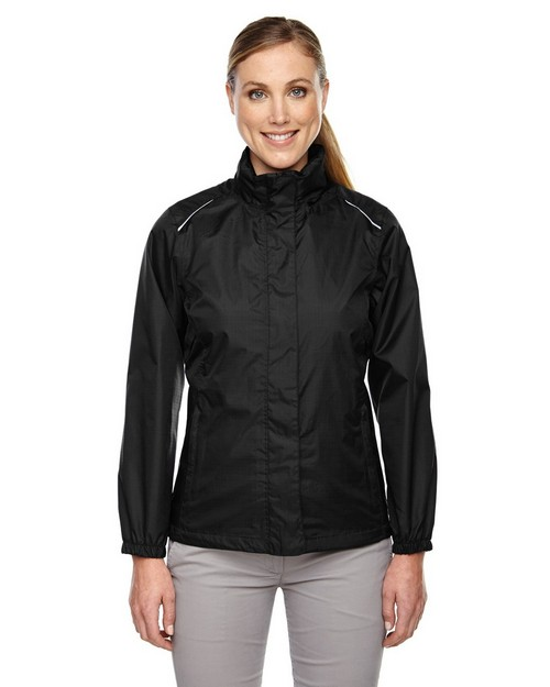 Core365 78185 Climate Ladies Seam Sealed Lightweight Variegated Ripstop Jacket
