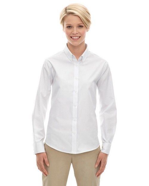 Core365 78193 Operate Ladies Long Sleeve Twill Shirt