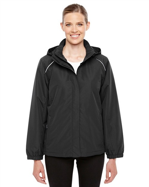 Core365 78224 Ladies Profile Fleece Lined All Season Jacket