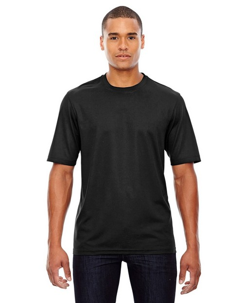 Core365 88182 Pace Mens Performance Pique Crew Neck T-Shirt