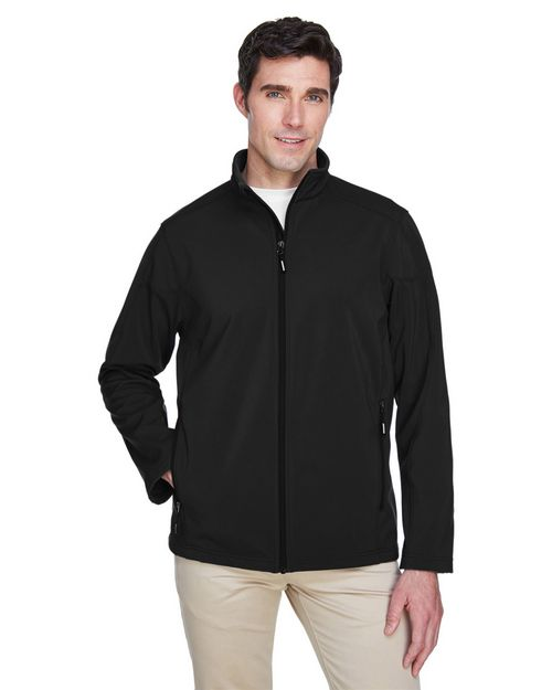 Core365 88184 Cruise Mens 2 Layer Fleece Bonded Soft Shell Jacket