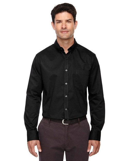 Core365 88193T Operate Mens Long Sleeve Twill Shirt