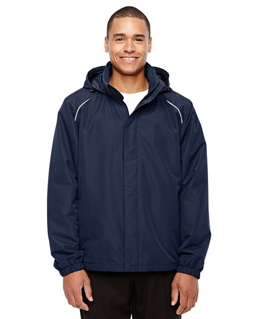 Core365 88224 Mens Profile Fleece Lined All Season Jacket