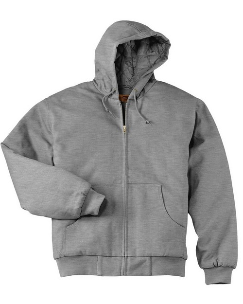 Cornerstone CS620 Heavyweight Full-Zip Hooded Sweatshirt with Thermal Lining