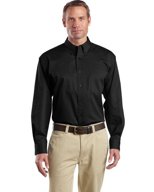 Cornerstone SP17 Long Sleeve SuperPro Twill Shirt