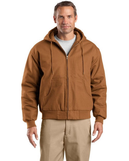 Cornerstone TLJ763H Tall Hooded Work Jacket