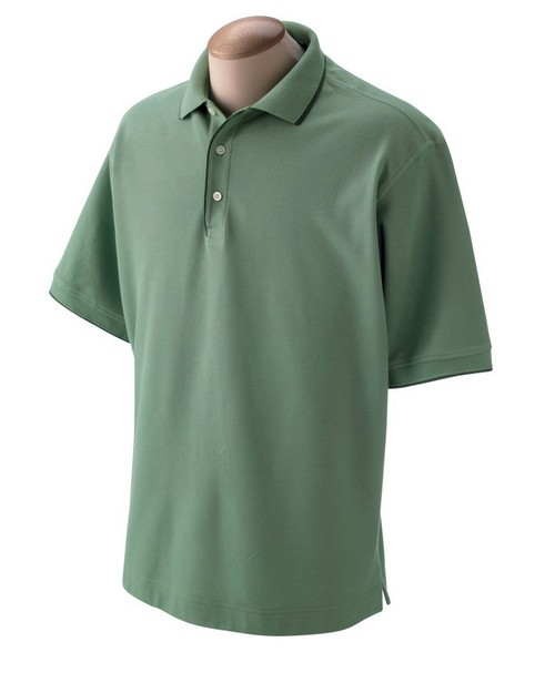 Devon & Jones D120 Mens Tipped Pique Polo