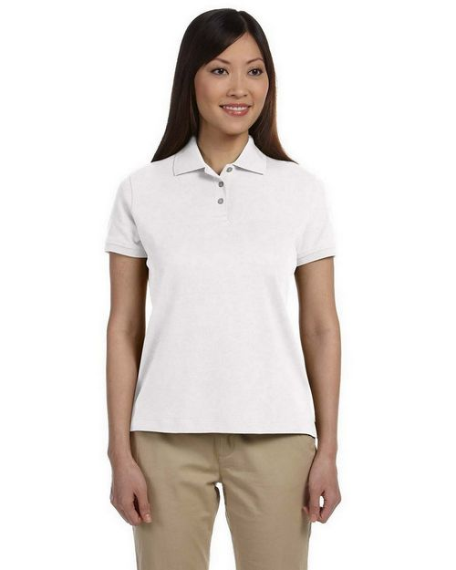 Devon & Jones D140SW Ladies Solid Perfect Pima Interlock Polo
