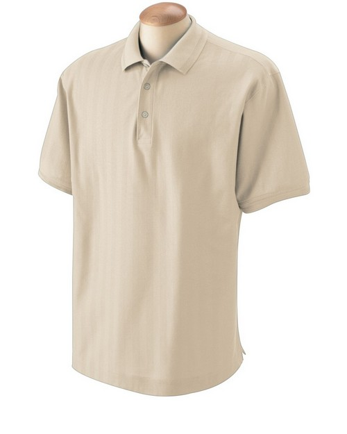 Devon & Jones D340 Mens Herringbone Polo