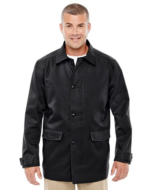 Devon & Jones D982 Mens Lightweight Basic Trench Jacket