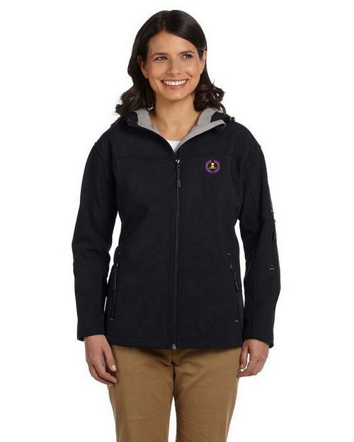 Devon & Jones D998W Ladies Hooded Soft Shell Jacket