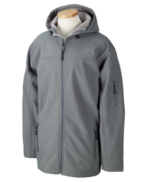 Devon & Jones D998 Men's Hooded Soft Shell Jacket