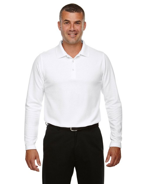 Devon & Jones DG170 Mens Drytec20 Performance Long Sleeve Polo Shirt