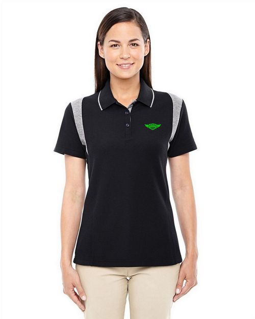 Devon & Jones DG180W Ladies Drytec20 Performance Colorblock Polo