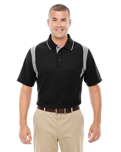 Devon & Jones DG180 Mens Drytec20 Performance Colorblock Polo