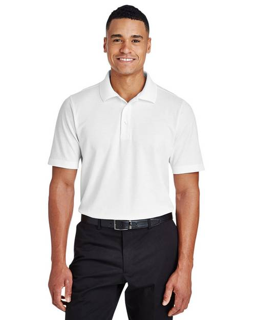 Devon & Jones DG20T Mens Tall CrownLux Performance Plaited Polo Shirt