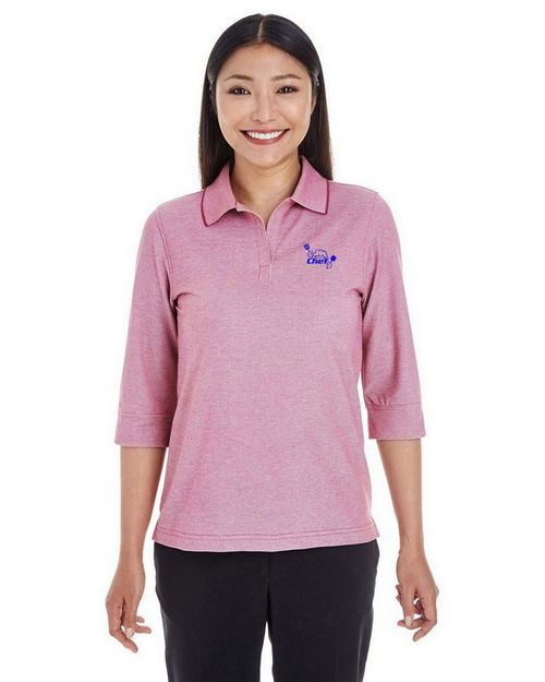 Devon & Jones DG220W Ladies Pima-Tech Oxford Piqué Polo
