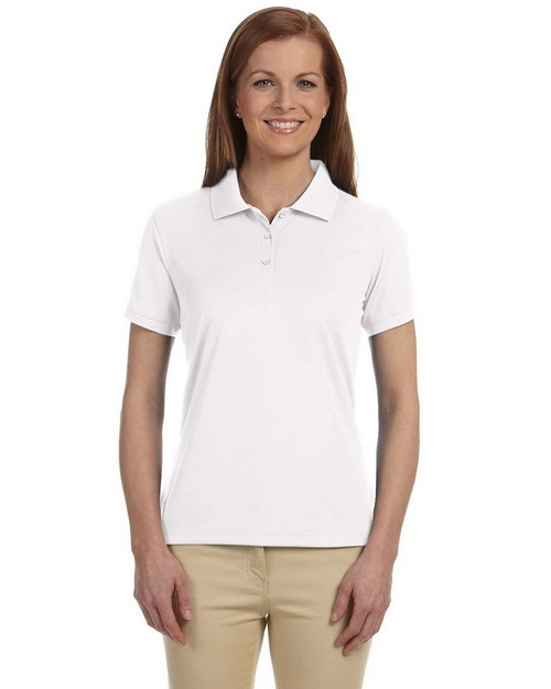 Devon & Jones DG385W Ladies Dri-Fast Advantage Solid Mesh Polo