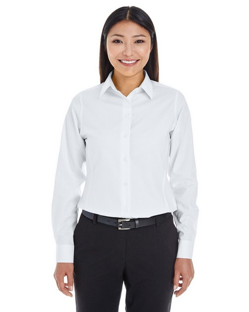 Devon & Jones DG532W Ladies Crown Collection Royal Dobby Shirt