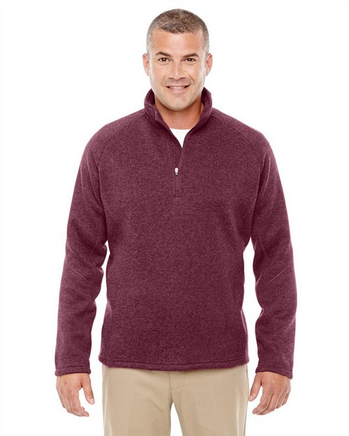 Devon & Jones DG792 Mens Bristol Sweater Fleece Half-Zip
