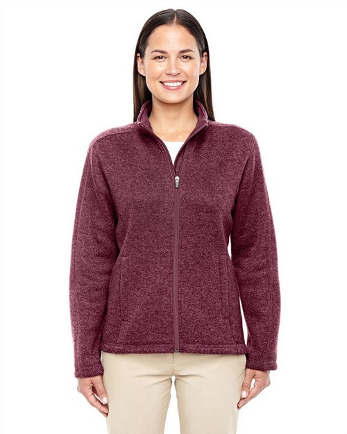 Devon & Jones DG793W Ladies Bristol Full Zip Sweater Fleece Jacket